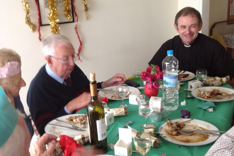St Helena's luncheon club, Christmas lunch 2012