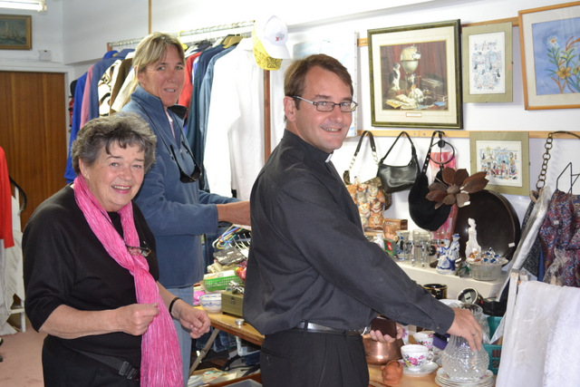 St Helena's church charity shop