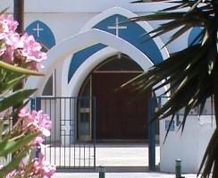 St Helena's Church Entrance